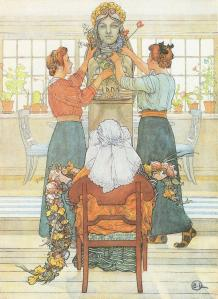 Artwork by Carl Larsson